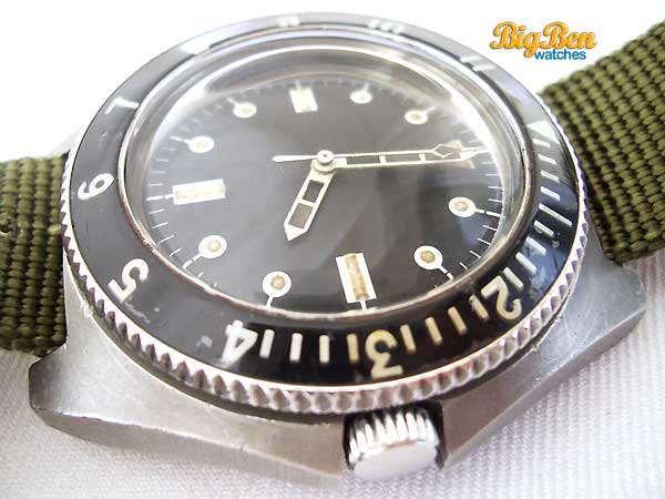 benrus type 1 class a military dive automatic watch