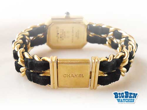 vintage chanel premiere jewelry watch