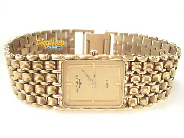 longines classic quartz bracelet/dress watch