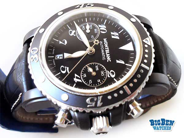 montblanc meisterstuck chronograph 200m automatic watch