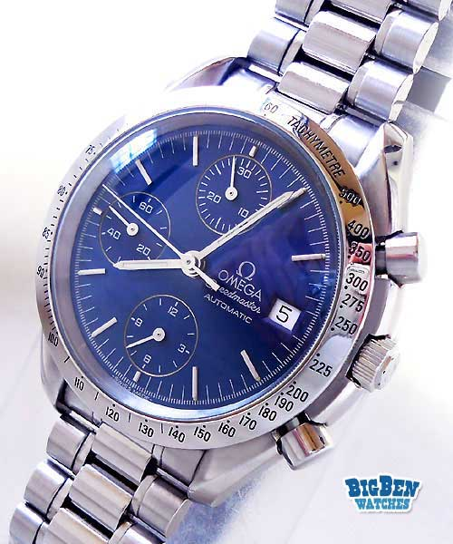 omega speedmaster chronograph automatic date watch