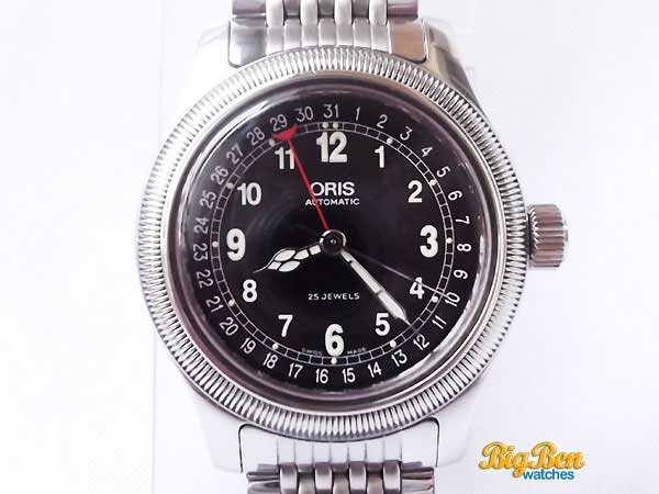 oris military pointer date automatic watch
