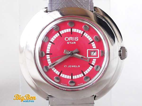 oris star mechanical date watch