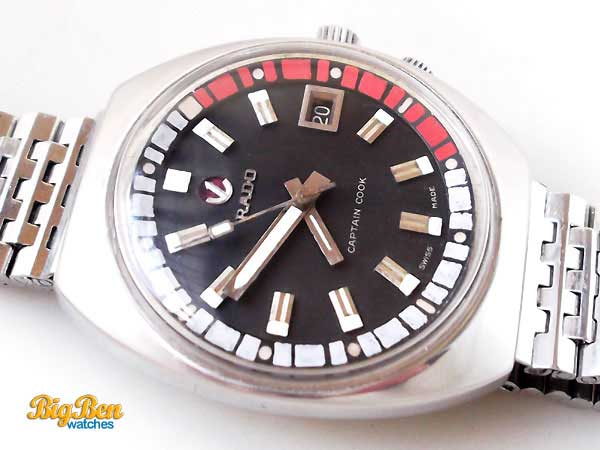 rado captain cook explorer automatic date watch