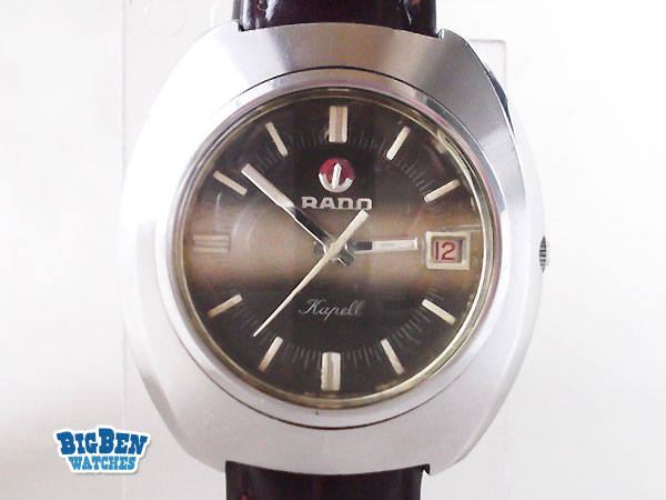rado kapell automatic date watch