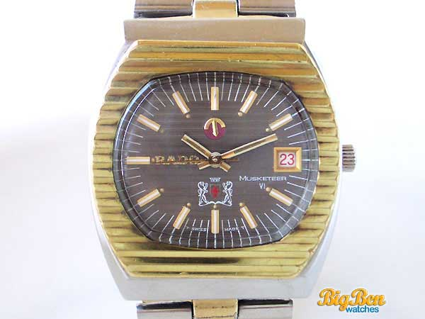 rado musketeer VI automatic date watch