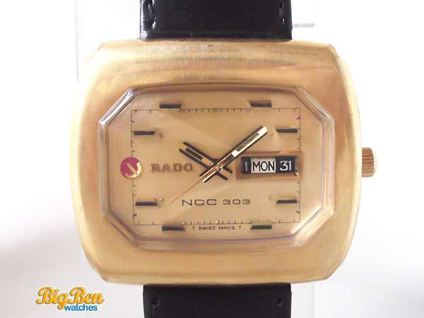 rado ncc 303 daymaster automatic day-date watch