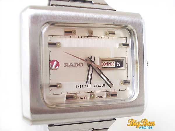 rado ncc 202 automatic day-date watch