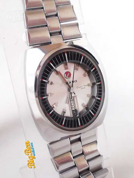 rado over pole 200 automatic day-date watch