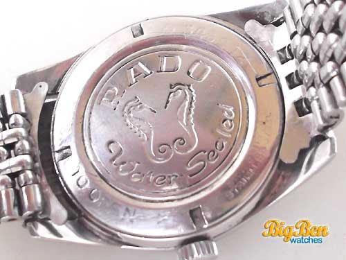 rado purple horse mechanical date watch