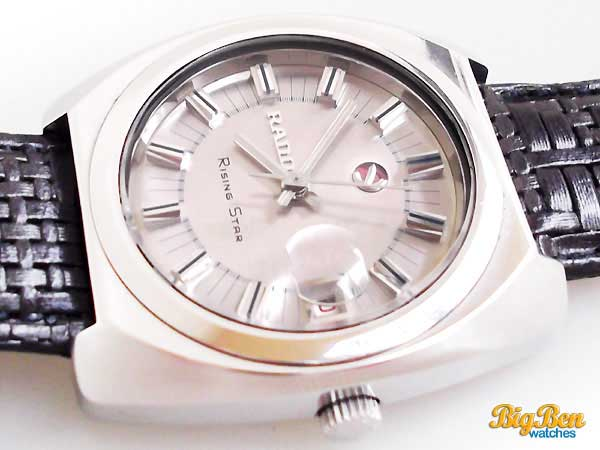 rado rising star automatic date watch