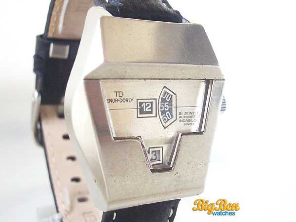 tenor-dorly jump hour direct read automatic date watch