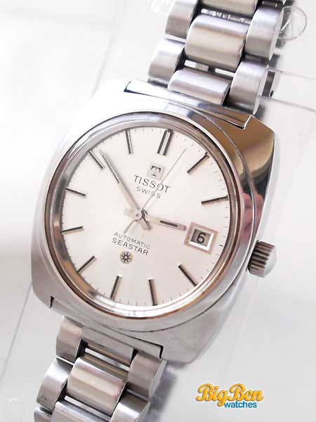 tissot seastar automatic day-date watch