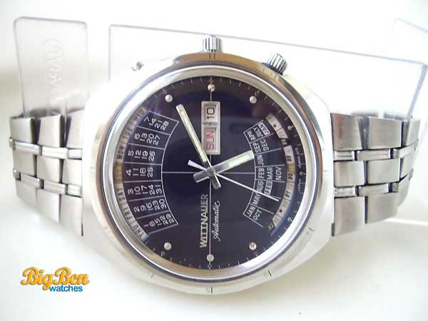 wittnauer 2000 perpetual calendar automatic day-date watch