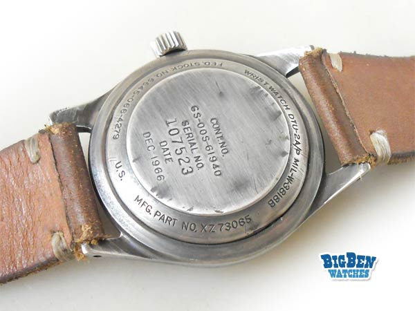 benrus military manual-wind watch