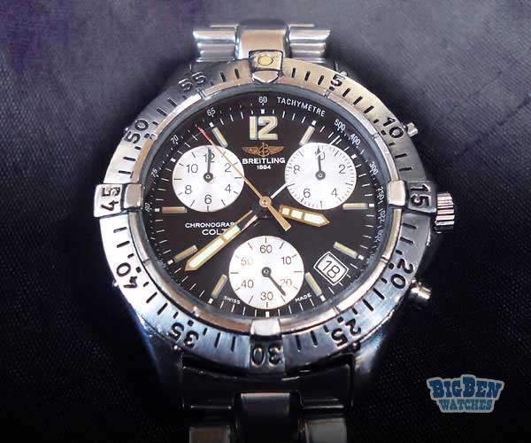 breitling b13048 stainless steel back chronographe prix. Black Bedroom Furniture Sets. Home Design Ideas