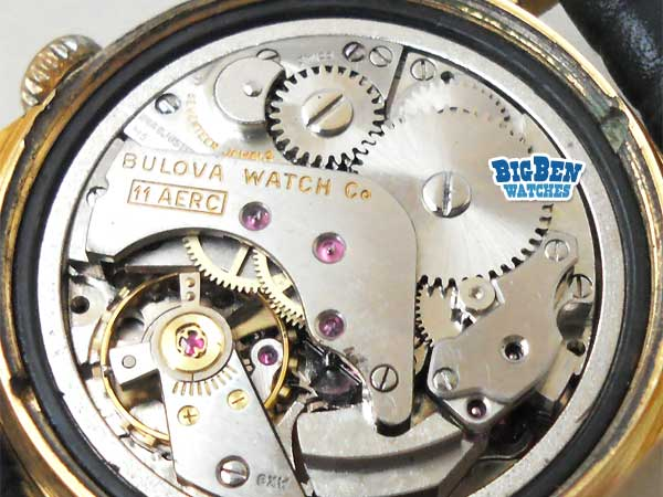 bulova wrist alarm manual-wind watch