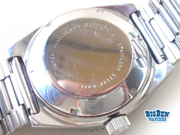 bulova 666 feet set-o-matic automatic day-date watch