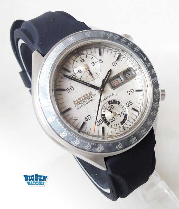citizen chronograph challenge timer speedy 67-9313 8110 automatic day-date watch