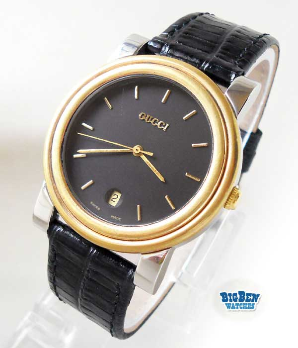 gucci 4300m classic date quartz watch