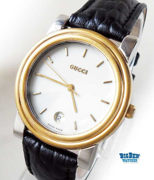 mens gucci 4300m classic quartz dress watch