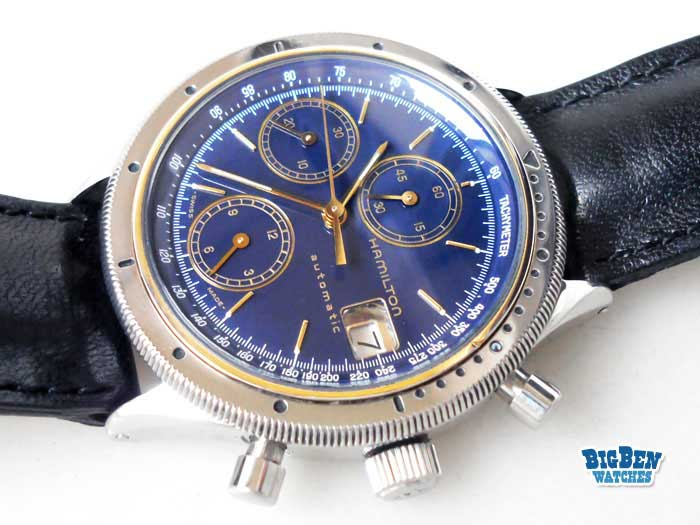 hamilton chronograph automatic date watch