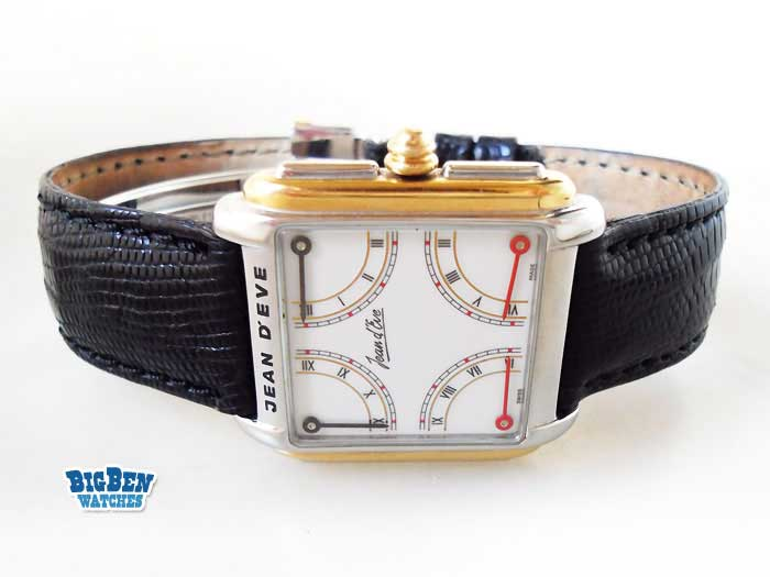 jean d eve quarta quartz watch