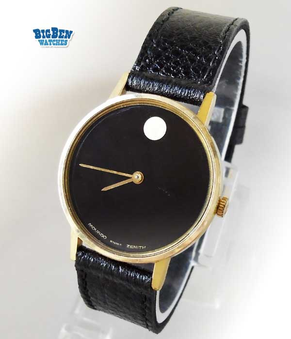 movado zenith museum manual-wind dress watch