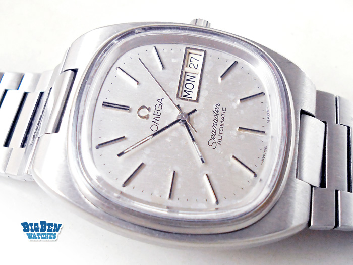 omega seamaster 1020 automatic day-date watch
