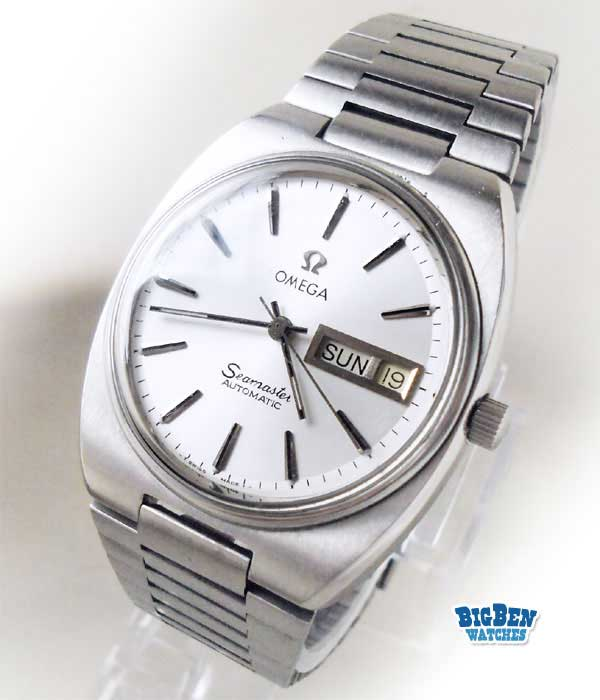 omega seamaster automatic day-date watch