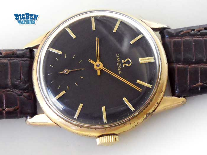 omega sub second caliber 269 manual-wind watch