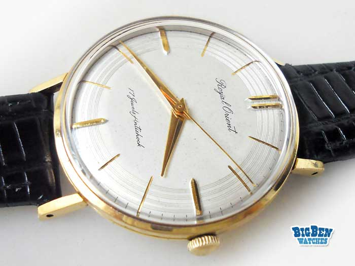 royal orient classic 17 jewels antishock watch