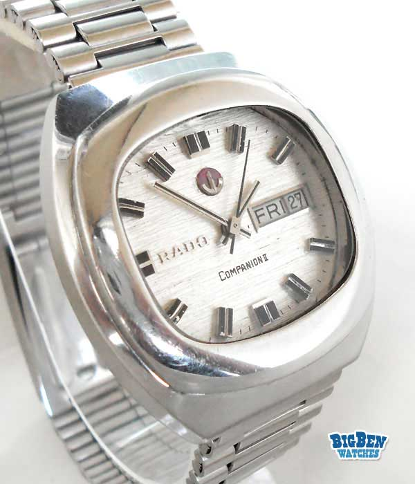 rado companion II automatic day-date watch