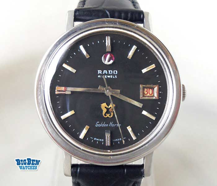 rado golden horse 41 automatic date watch
