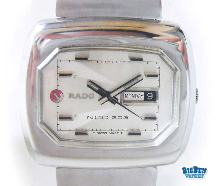 rado ncc 303 automatic day-date watch
