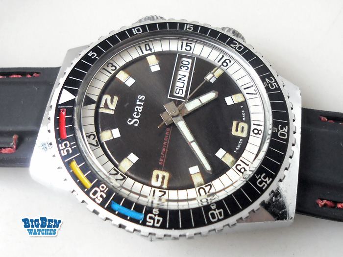 sicura sears tradition diver automatic watch