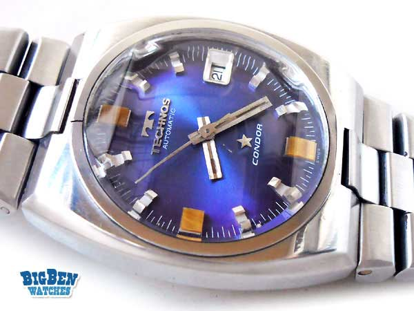 technos condor automatic date watch