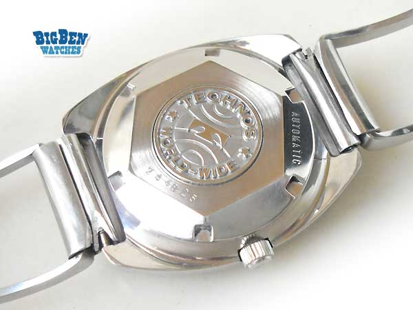 technos sky eagle automatic date watch