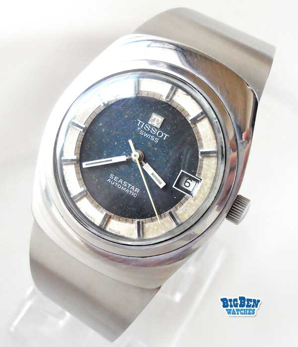 tissot seastar automatic date watch