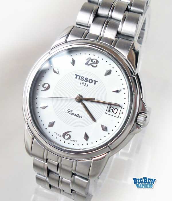 tissot seastar quartz diver watch
