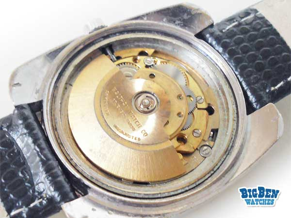 waltham 17 classic automatic day-date watch