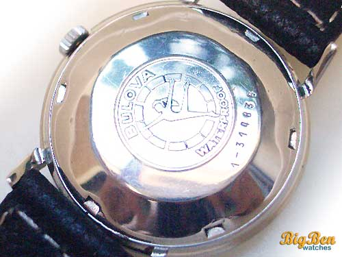bulova aerojet automatic date watch