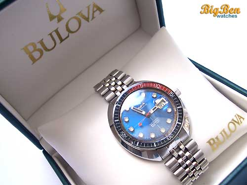 bulova oceanographer snorkel 666 feet automatic date watch