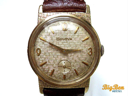 bulova sub-second manual-wind watch