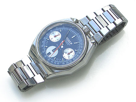 citizen chronograph automatic day-date watch