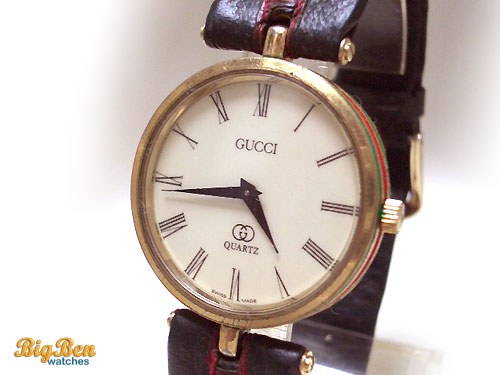 vintage gucci quartz watch