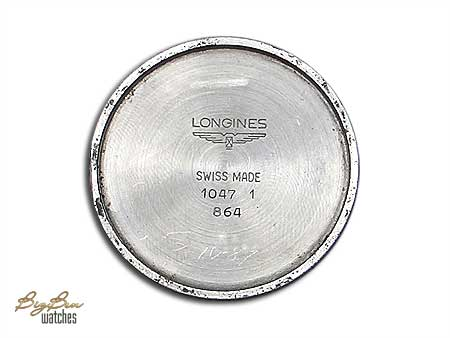 longines manual-wind watch