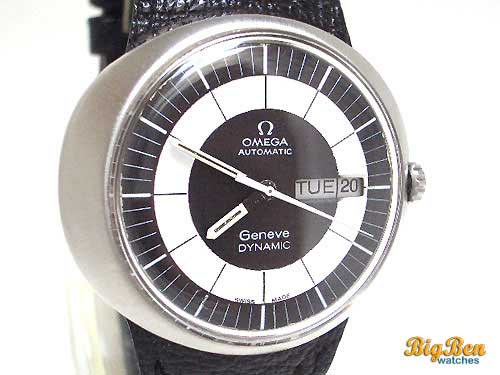 omega geneve dynamic day-date watch