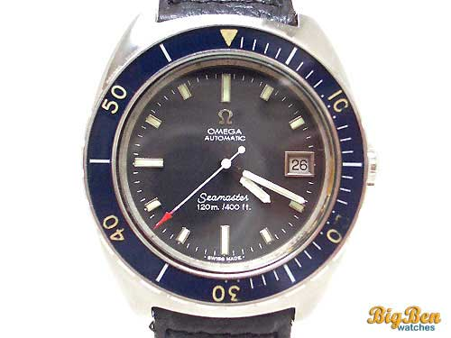 omega seamaster diver automatic day-date watch