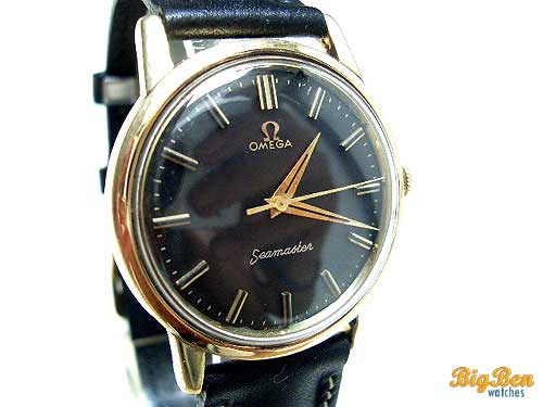 omega seamaster manual-wind watch